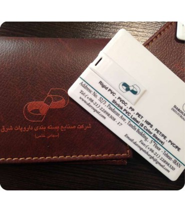 فلش کارت ویزیت تبلیغاتی با چاپ طرح اختصاصی
