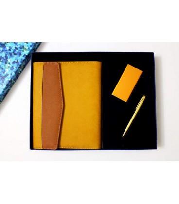 ست هدیه ارگانایزر+پاوربانک+خودکار استیل
