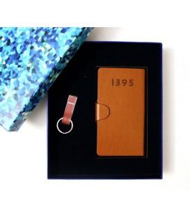 ست هدیه تقویم جیبی+فلش چرمی