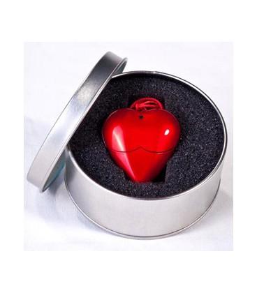فلش مموری طرح قلب با لوگوی اختصاصی