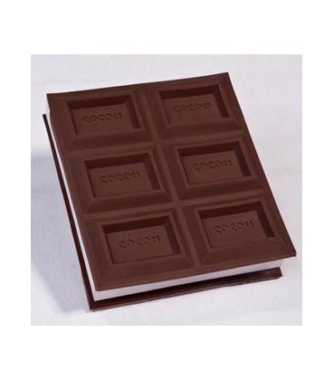 دفترچه یادداشت شکلات با لوگوی اختصاصی