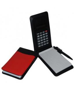 دفترچه یادداشت به همراه ماشین حساب با لوگوی اختصاصی