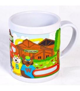لیوان پلاستیکی با چاپ طرح اختصاصی