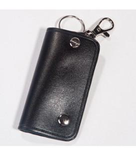 جاکليدي چرمی دکمه دار