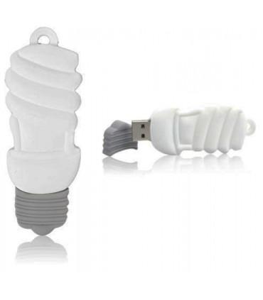 فلش مموری تبلیغاتی طرح لامپ کم مصرف