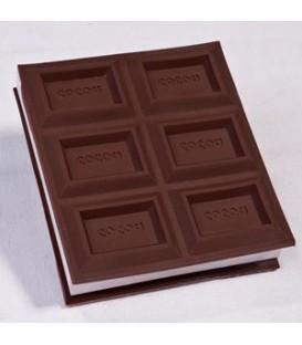 دفترچه یادداشت طرح شکلات با لوگوی اختصاصی