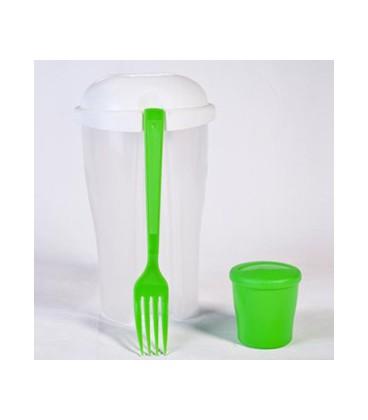 ماگ پلاستیکی تبلیغاتی به همراه چنگال