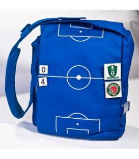 کیف فوتبال آبی و قرمز