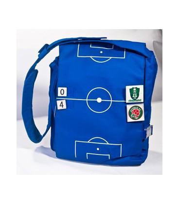 کیف تبلیغاتی آبی و قرمز