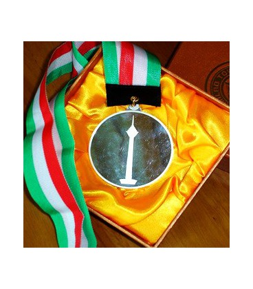 مدال با آویز و جعبه